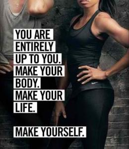 You make you